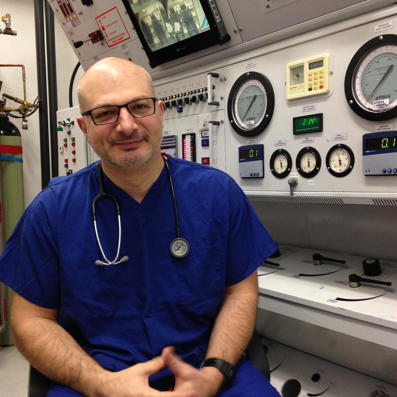 Dr Gonevski at MDC