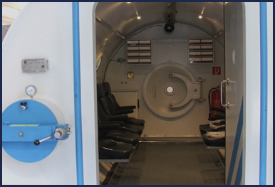 Recompression Chamber at Midlands Diving Chamber
